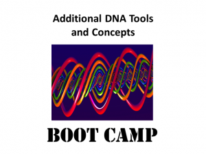 Additional DNA Tools and Concepts presented by Mary Eberle of DNA Hunters LLC and moderated by Thomas MacEntee.
