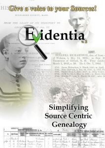 Save 20% on Evidentia software at Genealogy Bargains