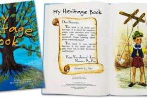 Genealogy Bargains is offering an EXCLUSIVE SALE on these amazing customized children's books at kidsHeritage! An easy way to get kids interested in family history!