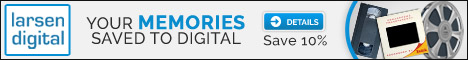 Save up to 15% on digital conversion of home movies, photos and more at Larsen Digital Services via Genealogy Bargains