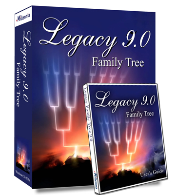 Legacy 9.0 Released with Amazing New Features. Check out the new features you'll find in the highly-anticipated new version of Legacy Family Tree Software: Hinting, Reports and Charts, FindAGrave.com Searching, Online Backup, Stories, Hashtags, Compare 2 People, Color Coding, and dozens of other enhancements!