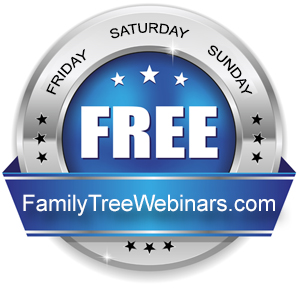 starting Friday, April 14th through Sunday, April 16th, Legacy Family Tree Webinars is offering its first ever FREE ACCESS weekend