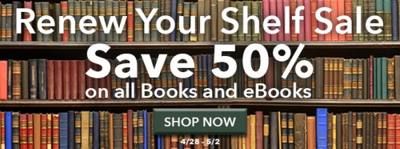 Save 50% on books and ebooks this weekend at Shop Family Tree