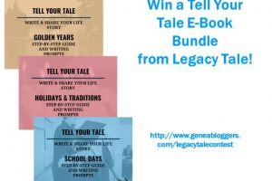 """Win a """"Tell Your Tale"""" E-book Bundle from Legacy Tale"""