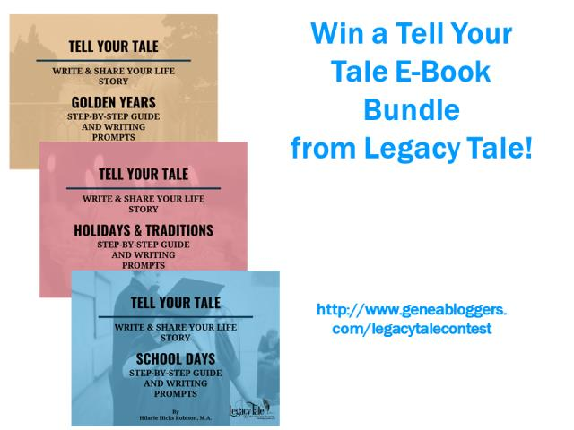 "Win a ""Tell Your Tale"" E-book Bundle from Legacy Tale"