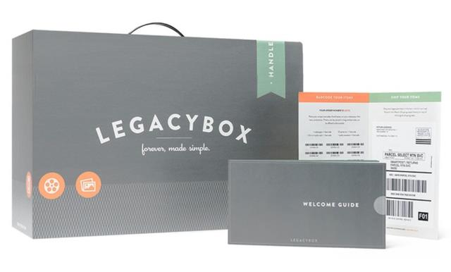 "Save up to 55% on Legacy Box ""Forever Made Simple"" - now this is a deal! You've seen the ads on Facebook advertising the Legacy Box Starter kit for $75 and they'll scan everything you can fit in the box they send you. ""Just fill Legacybox with your tapes, film, pictures, and audio. Send it in and we'll send it back with your memories preserved on dvds and optional thumb drive."" Well, you can get that same deal for just $27.99 via Groupon."