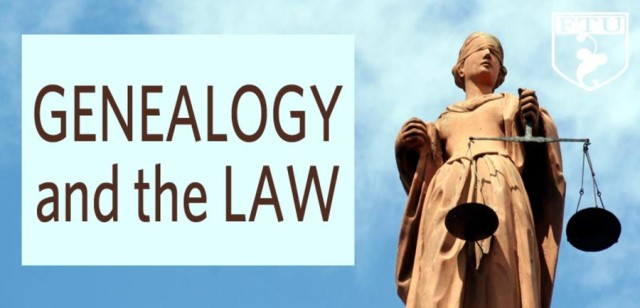 Special savings on Genealogy and the Law Workshop by Judy G. Russell, CG CGL and more at Genealogy Bargains, Thursday, June 22nd, 2017