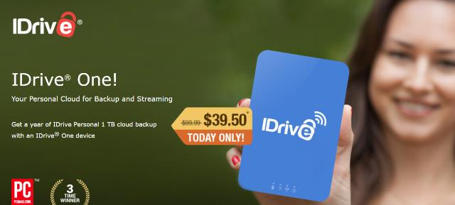 iDrive has provided Genealogy Bargains followers with an EXCLUSIVE sale - save over 60% on 1 year of cloud backup with a wireless external hard drive!