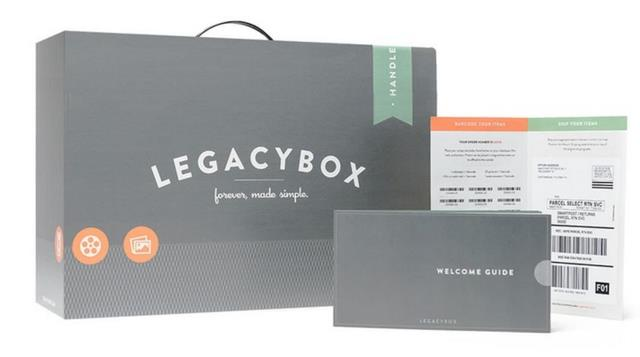 Legacybox offers photo and film digitization services by mail - save up to 63% right now via Groupon - and get those family memories scanned!
