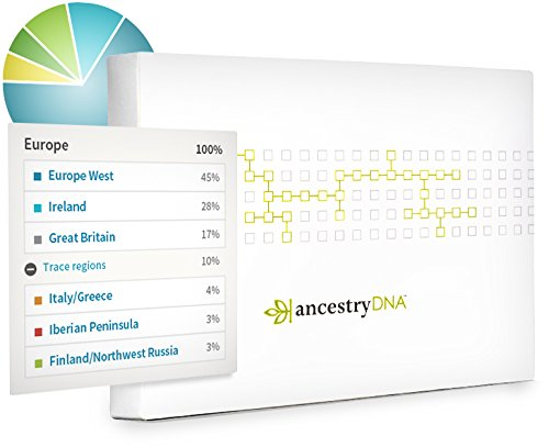 "AncestryDNA just $54.99 USD during Amazon Prime Day! HUGE sale price and you won't likely see AncestryDNA priced this low until Black Friday or CyberMonday later this year. ""Almost 10 million people have learned more about themselves. Are you next? From discovering their ethnicity to connecting with distant relatives, the largest DNA network in the world is helping more people find the singular story in their DNA. Yours is just as unique, revealing traces of your family history—who your ancestors were and where they came from."""