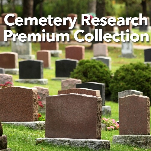 "Save 72% on the Cemetery Research Premium Collection at Shop Family Tree! ""Cemeteries are vital sites for any genealogist's search. In this collection, you will learn the steps of searching and analyzing ancestors' graves. Learn how to keep track of your research, the best websites for cemetery research, surprising places to find death details, and much more. Plus, this collection contains handy transcription forms along with care and repair tips to go with expert instruction on everything you need to research an ancestor's passing."" Note: This collection includes the new book The Family Tree Cemetery Field Guide. Available for pre-order, the book is scheduled to ship 8/22/17. Regularly priced at $211.95, now only $59.99!"