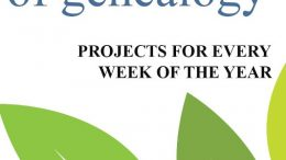 Genealogy author Nancy Hendickson offers her new book 52 Weeks of Genealogy: Projects for Every Week of the Year as a free download for Amazon Kindle!