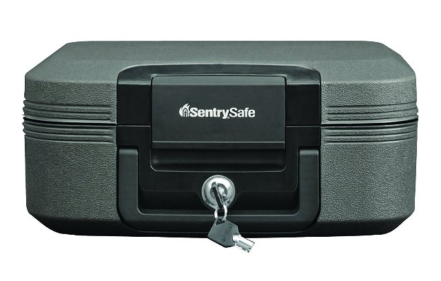 Save 42% on a Sentry Safe - Fire Resistant and Waterproof Protection for Your Valuables. I lived through many wildfire seasons in California and as part of my disaster preparedness plan, I bought a compact safe where I could store valuable items. Normally $99.99, this safe is easy to take with you in an emergency and it is sale priced at just $57.87!