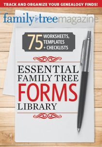 Essential Family Tree Forms Collection, Volume 1 Download, regularly $19.99, now just $13.99