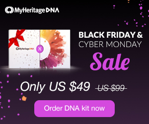 MyHeritage DNA Just $49!PLUS special savings on shipping! Just when we thought that prices couldn't go any lower, MyHeritageDNA just announced its Black Friday / Cyber Monday Sale! MyHeritage DNA test is an autosomal test just like AncestryDNA and Family Tree DNA's Family Finder test.