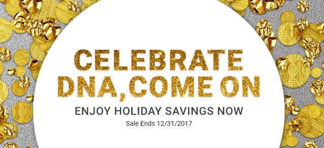 Save 30% or more on a variety of DNA test kits at Family Tree DNA! It's time for FTDNA's annual Holiday Sale with great prices on the tests you need to make advances in your genealogy and family history research! Just look at these deals . .