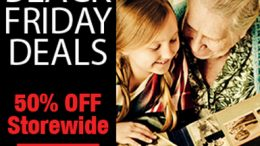 Family Tree Magazine has most of its products at 50% off during Cyber Monday - plus use our special promo code at Genealogy Bargains to save an extra 20% !