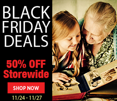 Get 50% off Storewide on Discountable Products with Family Tree Magazine's Black Friday Event! BLURB No promo code needed! PLUS remember to use promo code FAMTREE20 at checkout for an additional 20% off.* Valid through Monday, November 27th