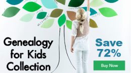 """Save 72% on Genealogy for Kids Collections - """"Pass your love of genealogy to the next generation with Genealogy for Kids Collection. With this collection, you will get five resources perfect for kids to begin their family tree. These tips, tricks, and prompts will help kids interview family members to build their family tree and dig into their heritage."""" This is a GREAT GIFT for your grandchildren, nieces and nephews this Christmas or Hanukkah!"""