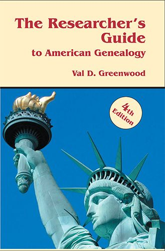 Save 15% on The Researcher's Guide to American Genealogy, 4th Edition, by Val D. Greenwood.  This is a MUST HAVE book fr any genealogist serious about their research! I own this book and I consult it every day that I am working on my family history!
