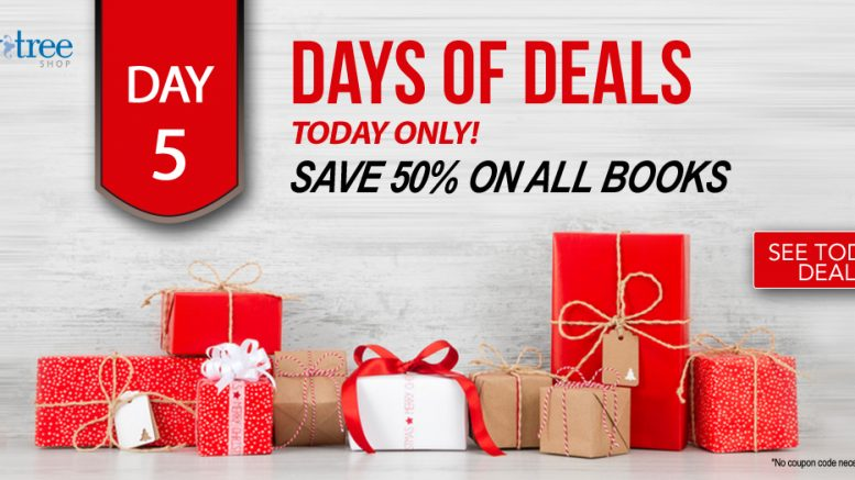 Save 50% and more on ALL BOOKS including digital ebooks TODAY ONLY at Family Tree Magazine during the Day of Deals Sale Day 5