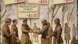 A special BOGO offer on military record pulls at NARA during the Twisted Twigs Winter Wonderland Sale - get the details at Genealogy Bargains!