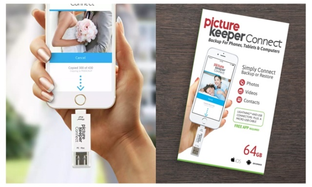 Picture Keeper Connect - iPhone & Android Storage Device