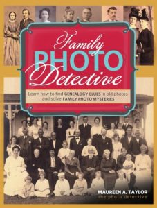 Family Photo Detective: This book will teach readers how to identify and verify people in family photographs by comparing facial features in a collection of photos.