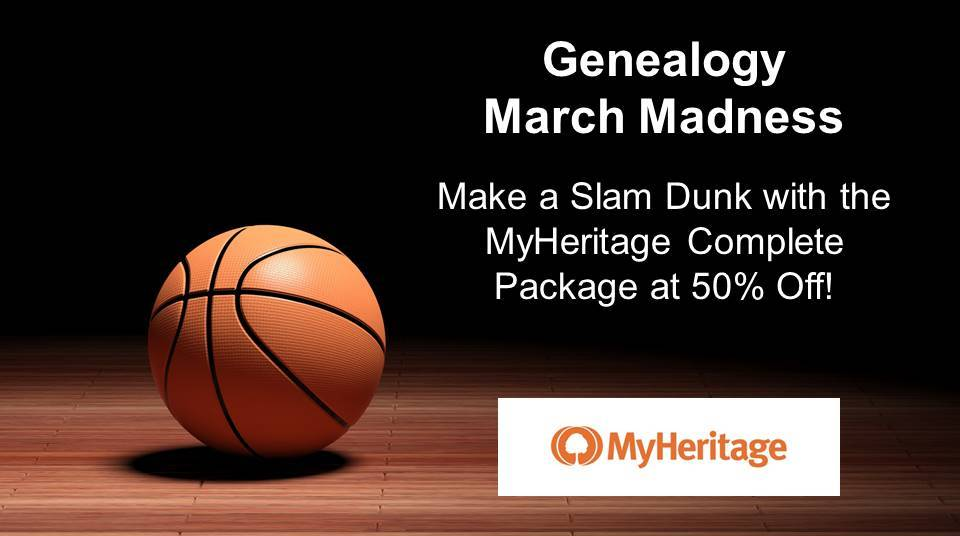 MyHeritage is offering a special discount on its annual Complete Plan price EXCLUSIVELY to friends of Genealogy Bargains. MyHeritage is one of the fastest growing genealogy sites and the best place to build your family tree, with historical collections including billions of records. This special offer will give you EVERYTHING on MyHeritage for the lowest price.