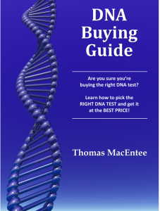 The updated DNA Buying Guide from DNA Bargains provides you with the best strategy as you navigate all the upcoming National DNA Day sales offers on DNA test kits, books and webinars!