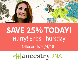 Save 25% on AncestryDNA - just £59!
