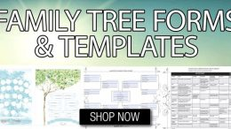 Sale on Genealogy Forms and Charts at Family Tree Magazine!