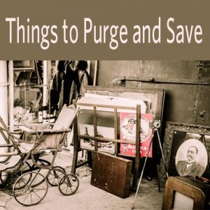 Family Tree Magazine Things to Purge and Save Expert Video