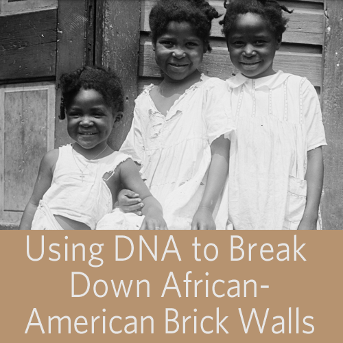 Save 40% onUsing DNA to Break Down African-American Brick Walls Video Download f