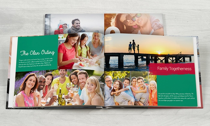 Save up to 88% on 40-Page Custom Hardcover Photo Books via Groupon!