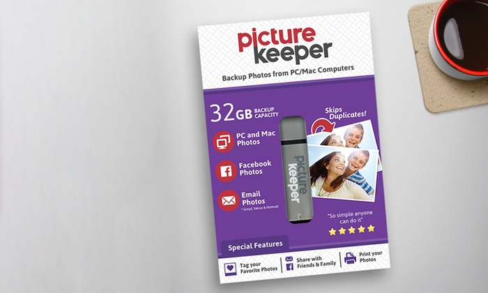 Save 53% on Picture Keeper! Picture Keeper is an amazing device that looks like a simple USB flash drive but it is so much more.