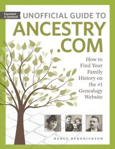 Genealogy author and educator Thomas MacEntee reviews Unofficial Guide to Ancestry.com Second Edition and urges genealogists of ALL skill levels use this guide to get the most out of Ancestry.com and learn some new tricks from Nancy Hendrickson!