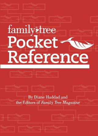 The Family Tree Pocket Reference is the perfect genealogy research companion, whether you are researching online in your home or on site at a library or archive. This pocket reference is organized with easy-to find charts, lists, graphs, and provides quick answers to all your research questions. You'll also find key resource lists, definitions, dates and other reference information from Family Tree Magazine and FamilyTreeMagazine.com in this handy pocket-size guide that is perfect for a library tote bag, top desk drawer or, yes, a pocket. Chapters include: Research Basics, States, Libraries & Archives, Names, Online Genealogy, Computing, Census, Immigration, Military, Cemeteries, Genetic Genealogy, Geography, Social History, and Photography. The second edition is fully updated with new websites, updated listings and an expanded Geography section featuring helpful reference maps.