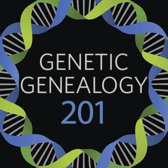 "Genetic Genealogy 201: Cracking the Genetic Code Online Genealogy Course: ""So you've taken your DNA test, and you've gotten your results back. But what does it really reveal about your family history? In this 4-week course, you'll learn the tools and techniques to ""crack the code."" You'll learn how to interpret your results to answer your questions as well as the tools available to make applying them to your research easier."""