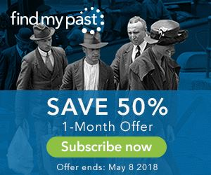 Save up to 50% on Findmypast! During this amazing sale, Findmypast is offering special discounts on a variety of different subscriptions