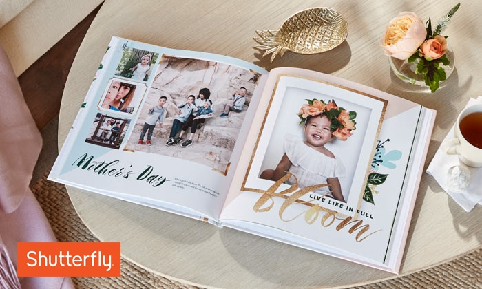 Amazing Mother's Day Deals on Photo Books at Groupon! As low as $5.00 USD each AND save up to 93%! This sale is crazy and there are so many formats and vendors to choose from including Shutterfly, Photobook America, Printerpix and more!