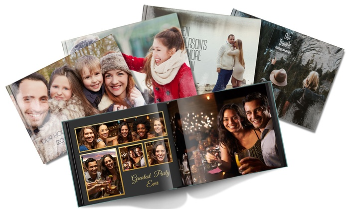 "Save up to 89% Off 11"" x 8.5"" Personalized Hardcover Photo Books from Printerpix! Get ready for great holiday gifts or stock up for your family reunion next summer!"