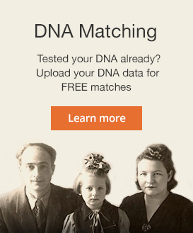 FREE DNA Matches via MyHeritage DNA! Have you uploaded your AncestryDNA test data (or other DNA test data) to MyHeritage yet? You can now do this for FREE and check out the ethnicity estimates and start matching with others on MyHeritage.