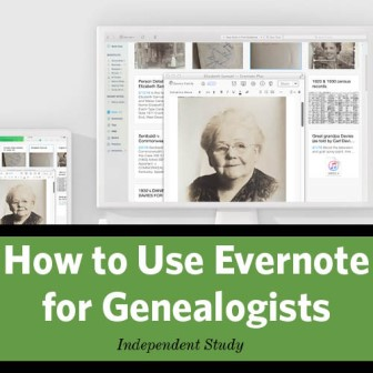 How to Use Evernote for Genealogists