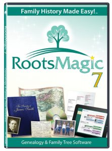 RootsMagic 7 - Software: RootsMagic is the award-winning genealogy software which makes researching, organizing, and sharing your family history easy! Whether you're a beginner or an experienced professional, RootsMagic is the perfect tool for you! Already have RootsMagic 7 software?