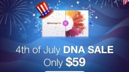 Special July 4th Sale at MyHeritage - DNA test kit for just $59 USD!