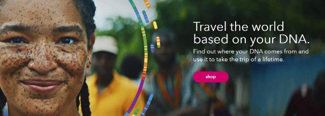 Summer Travel Sale - Save 30% on ALL 23andMe DNA test kits! If you missed out on the amazing sale prices for 23andMe during Amazon Prime Day, here's your chance to still get great savings! During the 23andMe Summer Travel Sale, you can get the 23andMe Ancestry Service DNA test kit - a basic autosomal DNA test similar to AncestryDNA - regularly priced at $99 USD, for just $69 USD! And the 23andMe Ancestry Service + Health test, regularly priced at $199 USD, is just $139 USD! Sale valid through August 9th.