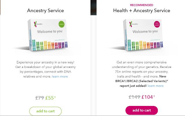 23andMe UK - Save 30% on all 23andMe DNA test kits during the 23andMe Summer Travel Sale