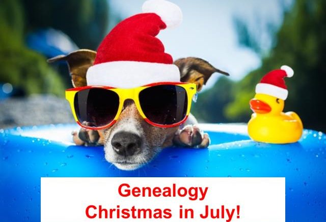 GET YOUR COOL ON at Genealogy Bargains during the 12 Days of Genealogy Christmas in July celebration! Check out the freebies, giveaways and sales on DNA, family history and more!