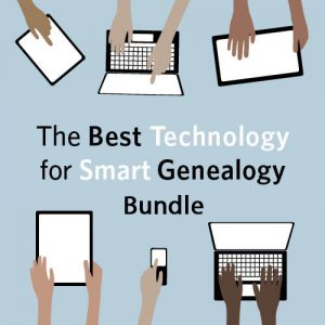 The Best Technology for Smart Genealogy Bundle:This bundle contains eight video presentations designed to help you find new resources and collections online as well as organize, preserve and share your research in creative, fun ways. By the time you've watched all of the videos, your fingers will be flying over the keyboard and you'll be able to share your new discoveries online with a few clicks.